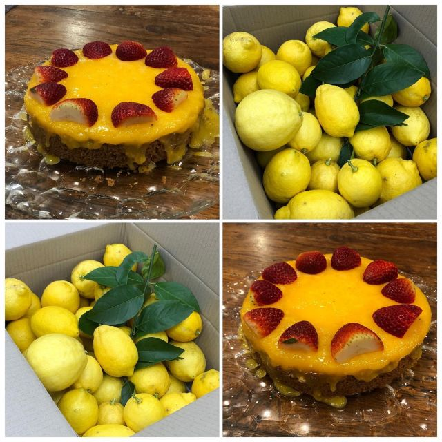 Life has been giving us a lot of lemons lately with the ongoing Covid restrictions. But a bit like the saying goes, when life gives you lemons … make lemon cheese cake! 🍋  Thanks to my lovely #blepharoplasty patient that gave us this huge box of amazing lemons from her garden. My 15 year old son put them to good use making this beautiful citrus cheese cake!  #lemon #lifegivesyoulemons #thankyou